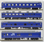 Kato 3-515 -HO Scale Series 24 Hokutosei 4 Car Powered Set